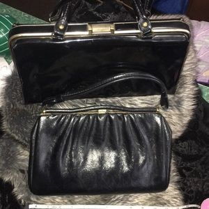 Bundle package. 2 beauties. Vintage handbags